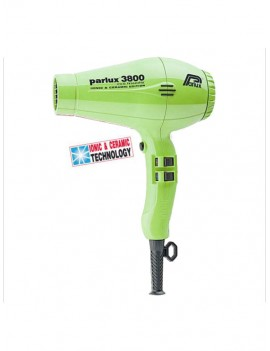 Secador 3800 eco friendly Parlux verde pistacho