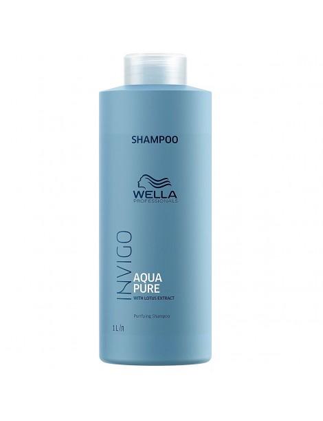 Champú Balance Pure limpiador profundo 1000 ml Wella