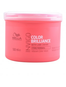 Brilliance Cabello grueso/color tratamiento hidratante 500 ml Wella