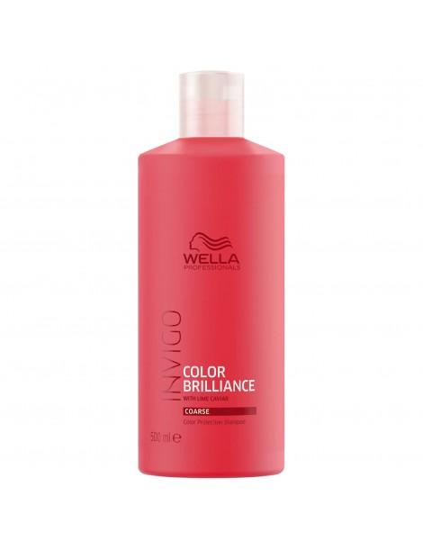Champú Brilliance cabello color/grueso 500 ml Wella